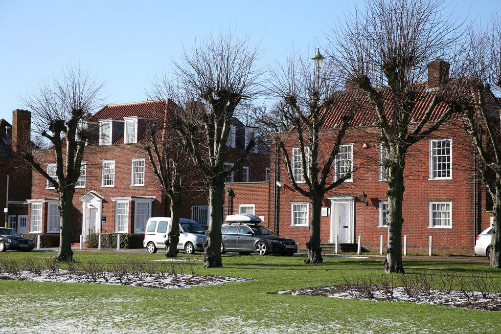 A series of buildings and places around Welwyn Garden City we've taken inspiration from